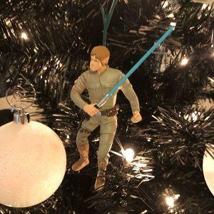 VTG Star Wars Luke skywalker hallmark ornament